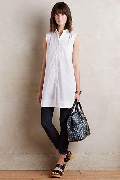 50 White Sleeveless Top Outfits Ideas 51