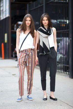 50 White Sleeveless Top Outfits Ideas 9