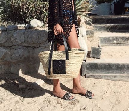50 Woven and Bamboo Bags for Summer Ideas 27