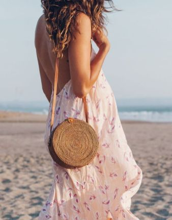 50 Woven and Bamboo Bags for Summer Ideas 31