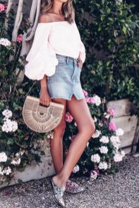 50 Woven and Bamboo Bags for Summer Ideas 4