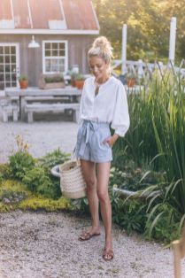 50 Woven and Bamboo Bags for Summer Ideas 47