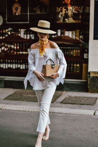 50 Woven and Bamboo Bags for Summer Ideas 6
