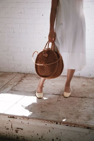 50 Woven and Bamboo Bags for Summer Ideas 7