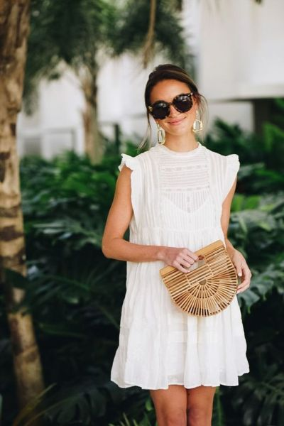 50 Woven and Bamboo Bags for Summer Ideas 9