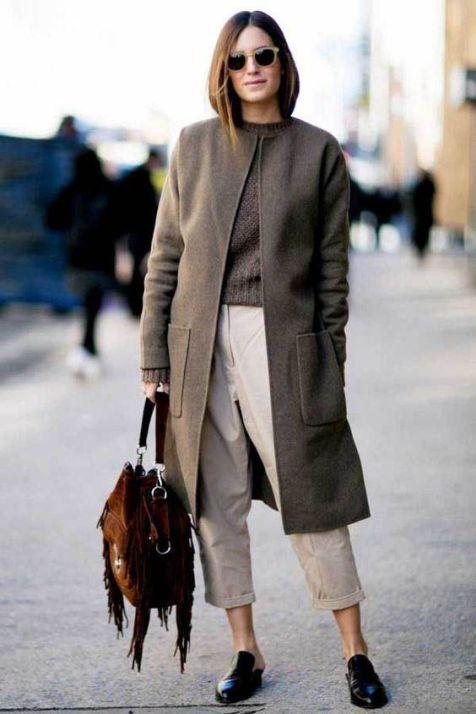 50 stilvolle Look Loafer Schuhe Street Styles Ideen 10