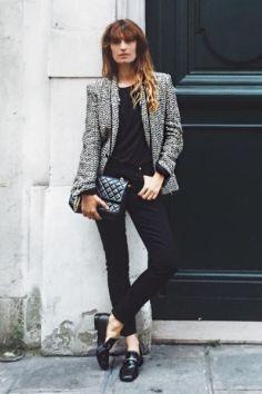 50 stilvolle Look Loafer Schuhe Street Styles Ideen 18