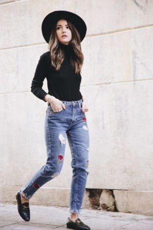 50 stilvolle Look Loafer Schuhe Street Styles Ideen 29
