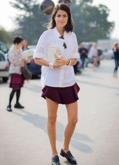 50 stilvolle Look Loafer Schuhe Street Styles Ideen 34