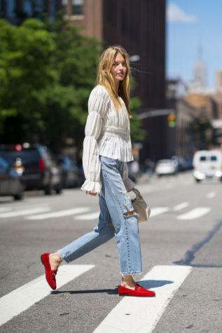 50 stilvolle Look Loafer Schuhe Street Styles Ideen 44