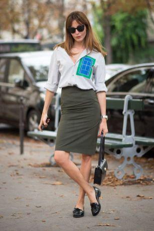 50 stilvolle Look Loafer Schuhe Street Styles Ideen 49