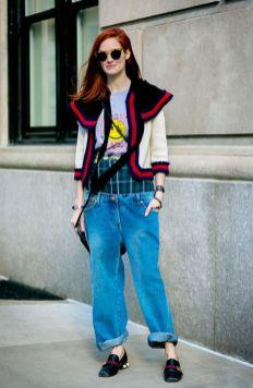 50 stilvolle Look Loafer Schuhe Street Styles Ideen 53