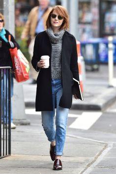 50 stilvolle Look Loafer Schuhe Street Styles Ideen 8