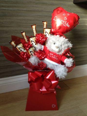 70 Schokoladengeschenk für Valentinstag Ideen 10