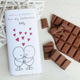 70 Schokoladengeschenk für Valentinstag Ideen 48 1