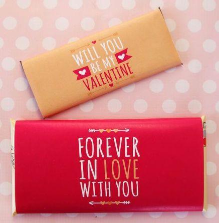 70 Schokoladengeschenk für Valentinstag Ideen 57