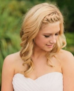 30 Simple Long Hairstyles for Party Look Ideas 17