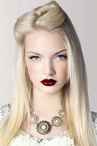 30 Simple Long Hairstyles for Party Look Ideas 2