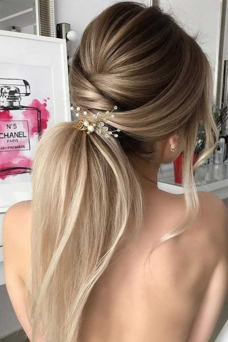 30 Simple Long Hairstyles for Party Look Ideas 23 1