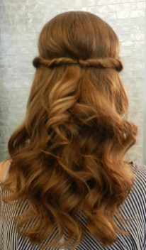 30 Simple Long Hairstyles for Party Look Ideas 24 1
