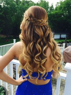 30 Simple Long Hairstyles for Party Look Ideas 28 1