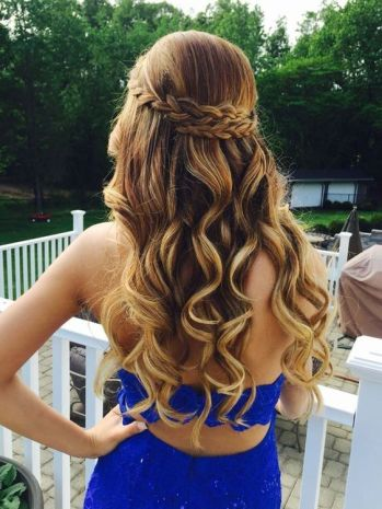 30 Simple Long Hairstyles for Party Look Ideas 28