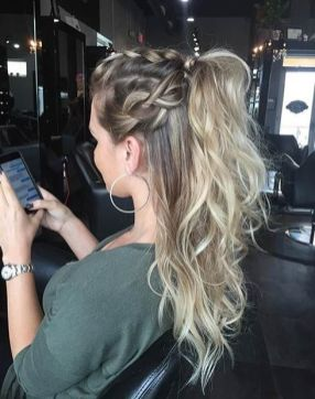30 Simple Long Hairstyles for Party Look Ideas 3 1