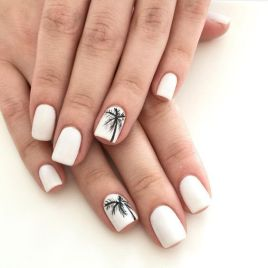 40 Beach Themed Nail Art for Summer Ideas 26