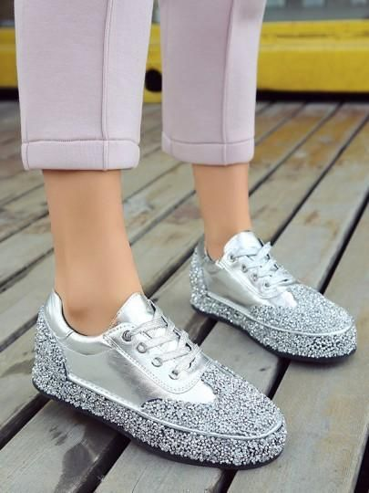 40 Chic Sequin Shoes Ideas 1