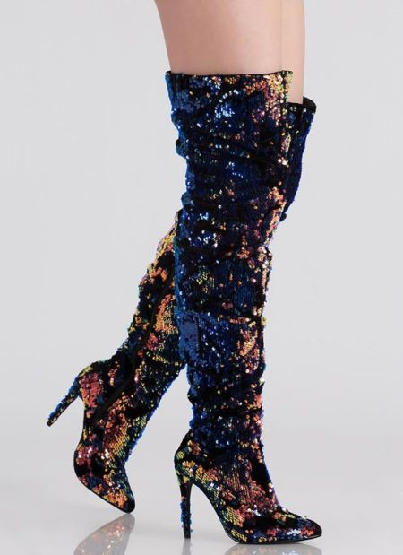 40 Chic Sequin Shoes Ideas 3