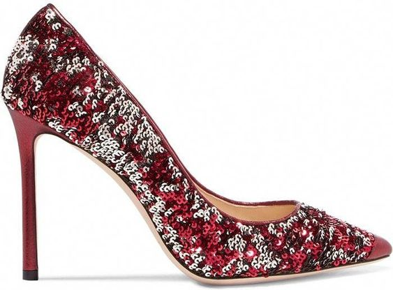 40 Chic Sequin Shoes Ideas 8