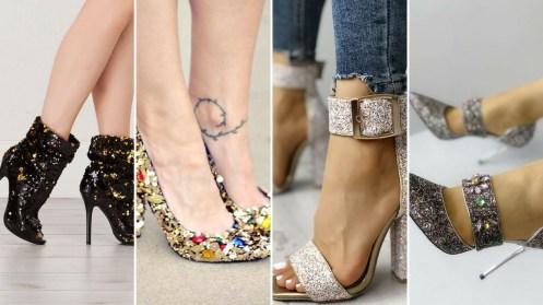 40 Chic Sequin Shoes Ideas