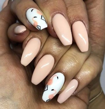 40 Cute Flamingo Themed Nail Art Ideas 3