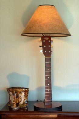 40 DIY Repurpose Old Guitars Ideas 15