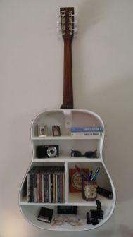 40 DIY Repurpose Old Guitars Ideas 26