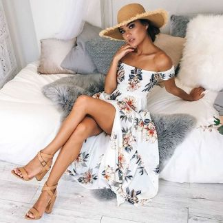 40 Fashionable Floral Print Dresses for Summer Ideas 11