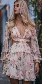 40 Fashionable Floral Print Dresses for Summer Ideas 13