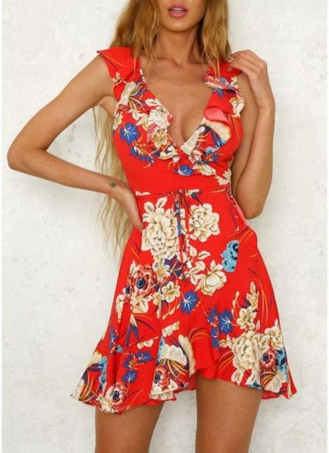 40 Fashionable Floral Print Dresses for Summer Ideas 26