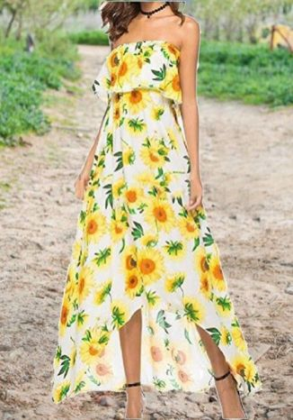 40 Fashionable Floral Print Dresses for Summer Ideas 33