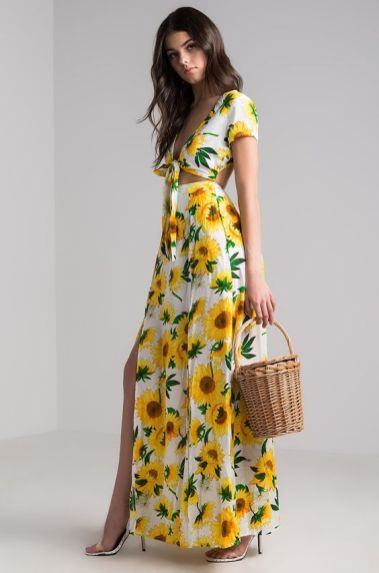 40 Fashionable Floral Print Dresses for Summer Ideas 34