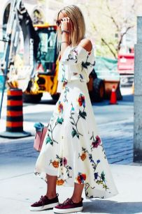 40 Fashionable Floral Print Dresses for Summer Ideas 43