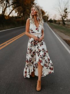 40 Fashionable Floral Print Dresses for Summer Ideas 44
