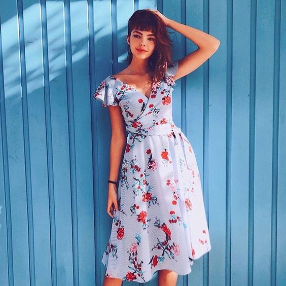 40 Fashionable Floral Print Dresses for Summer Ideas 47