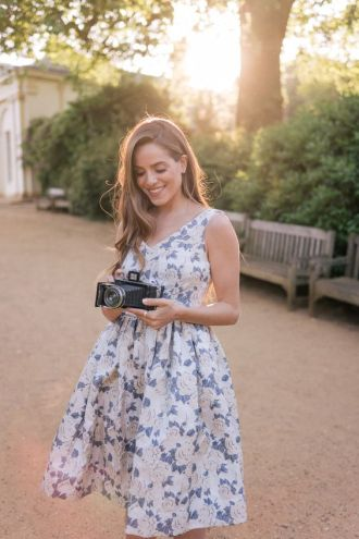 40 Fashionable Floral Print Dresses for Summer Ideas 49
