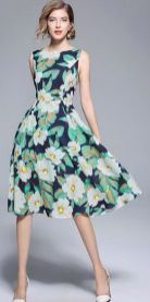 40 Fashionable Floral Print Dresses for Summer Ideas 5