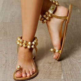 40 Glam Flat Sandals for Summer Ideas 46