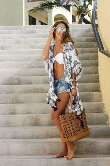 40 Hot pants Outfits for Perfect Summer Ideas 38