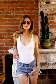 40 Hot pants Outfits for Perfect Summer Ideas 42