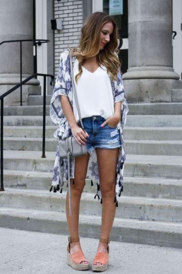 40 Hot pants Outfits for Perfect Summer Ideas 45