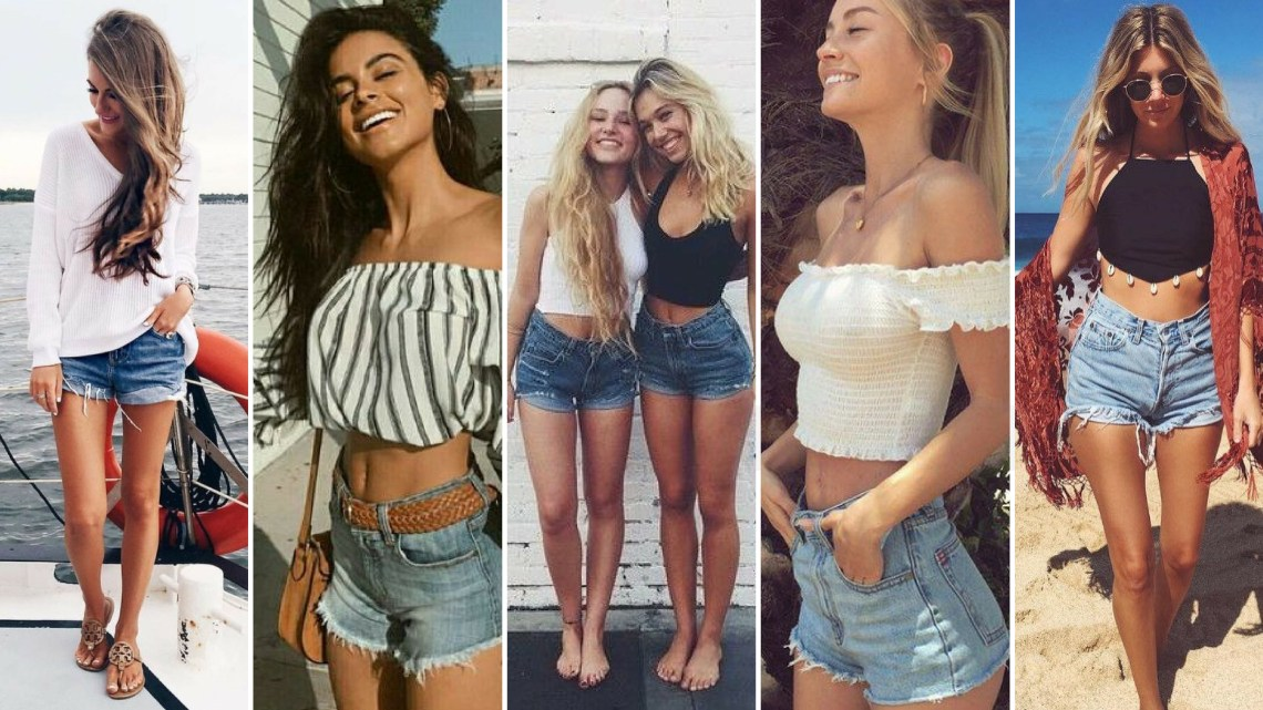 40 Hot pants Outfits for Perfect Summer Ideas 47